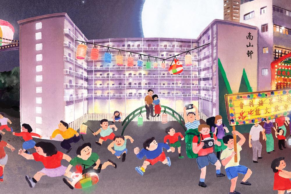 HSBC Moon Festival Panorama - 麥東記DONMAK & CO