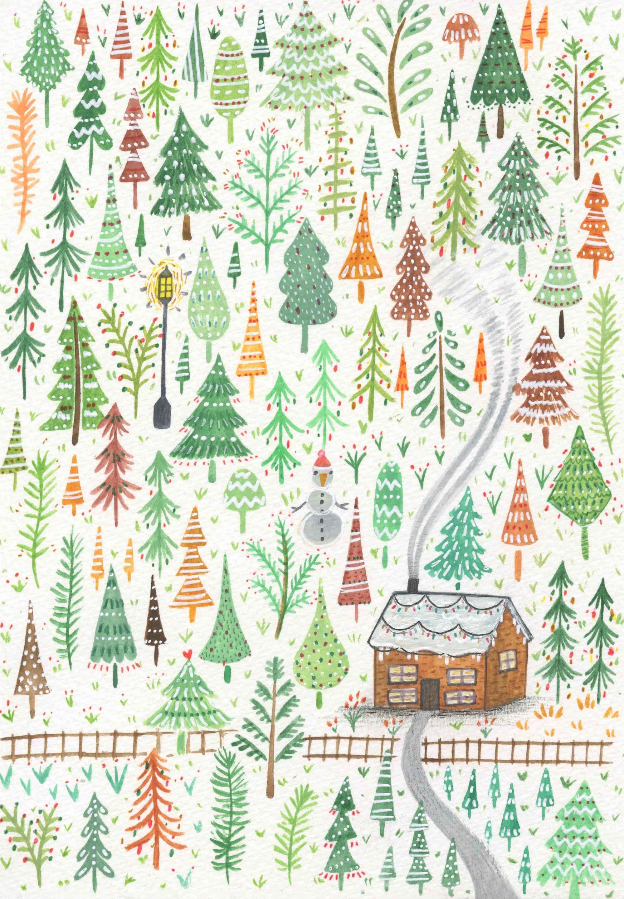 Greeting Cards Andrina Manon Illustration