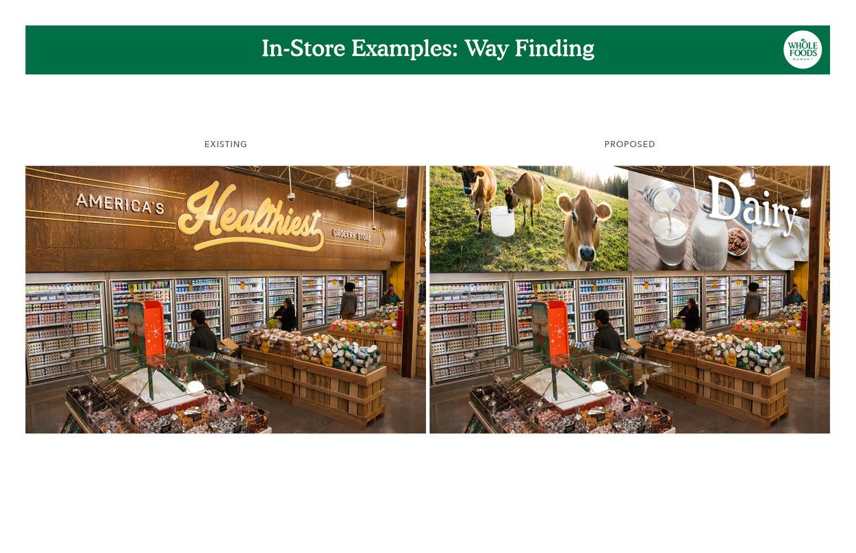 Whole Foods Store Decor Concepts Davids Portfolio